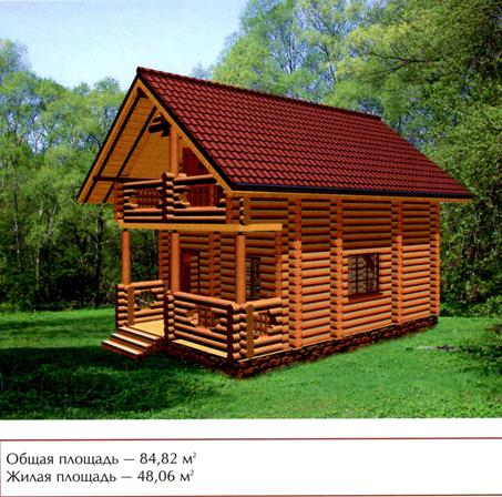 Фото дом сруб 6 на 6 фото